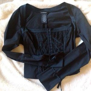 Bebe corset style blouse